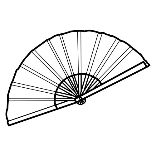 Hand Fan Drawing at GetDrawings.com | Free for personal use Hand Fan ...