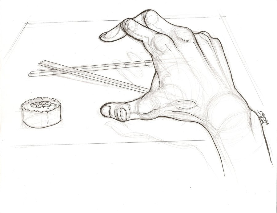 900x691 Hand Drawing 1 By Shamash