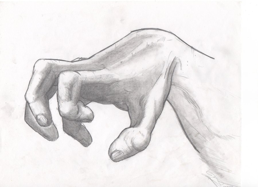 900x654 Hand Study 1 By The Infamous Mrgates