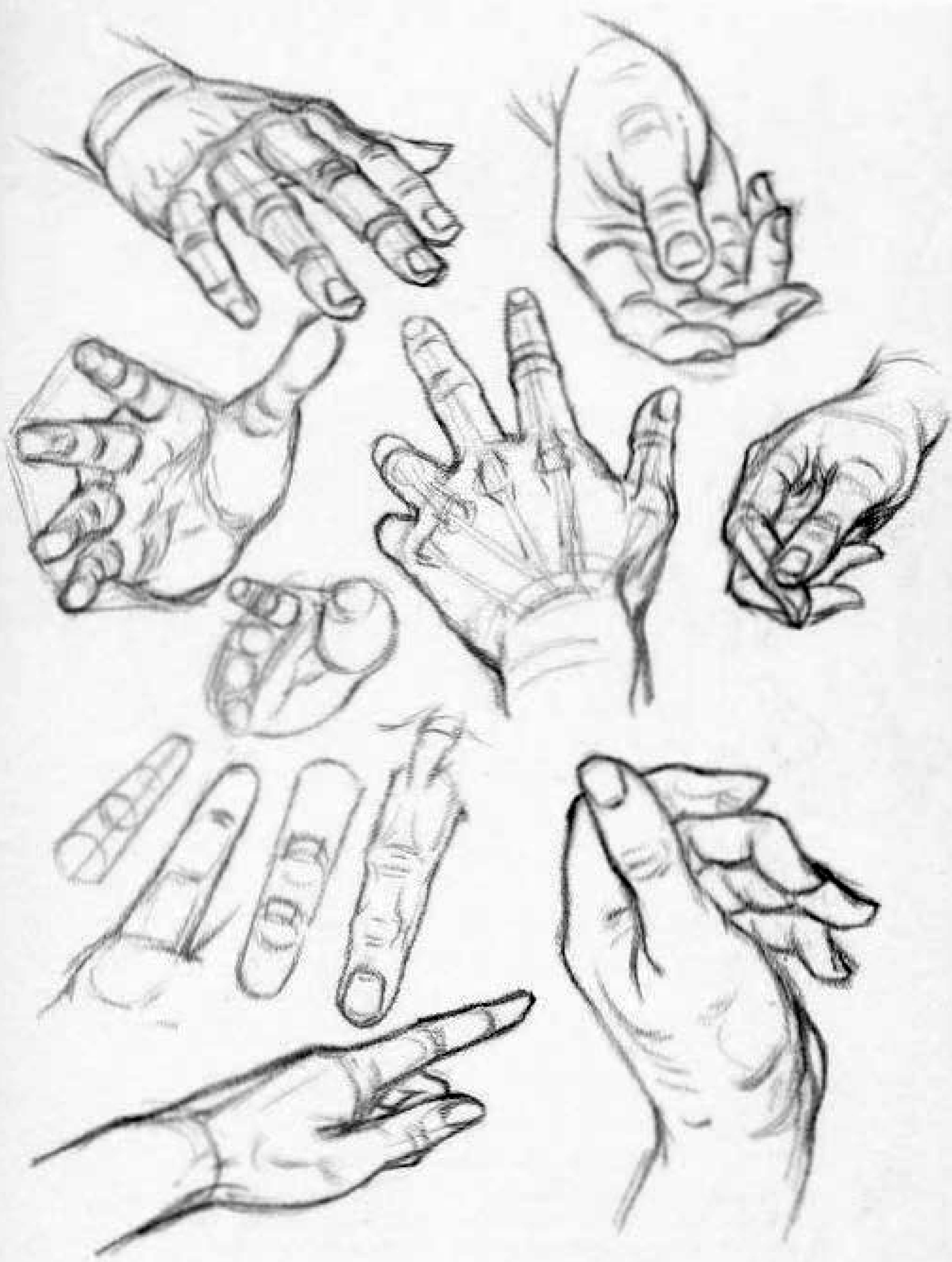 2101x2784 How To Draw Hands