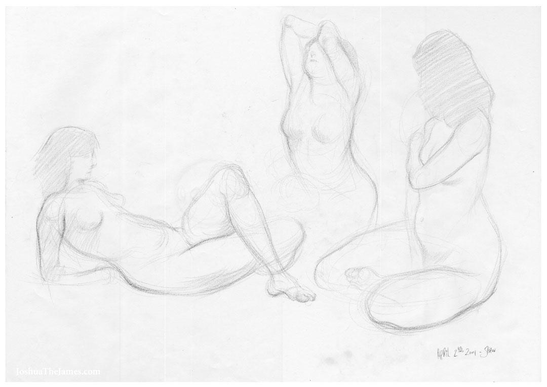 1080x764 Art Figure Drawings And Gestures