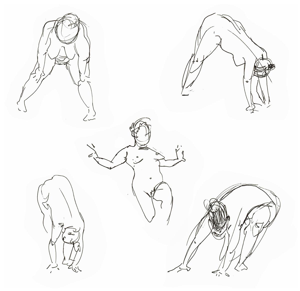 1200x1164 Gesture Drawing