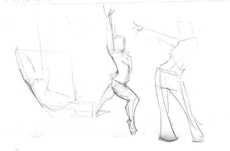 750x492 Gesture Drawing Sketch Pad