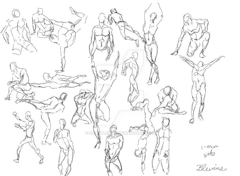 800x585 Gesture Drawing Day 4 By Chadblevins