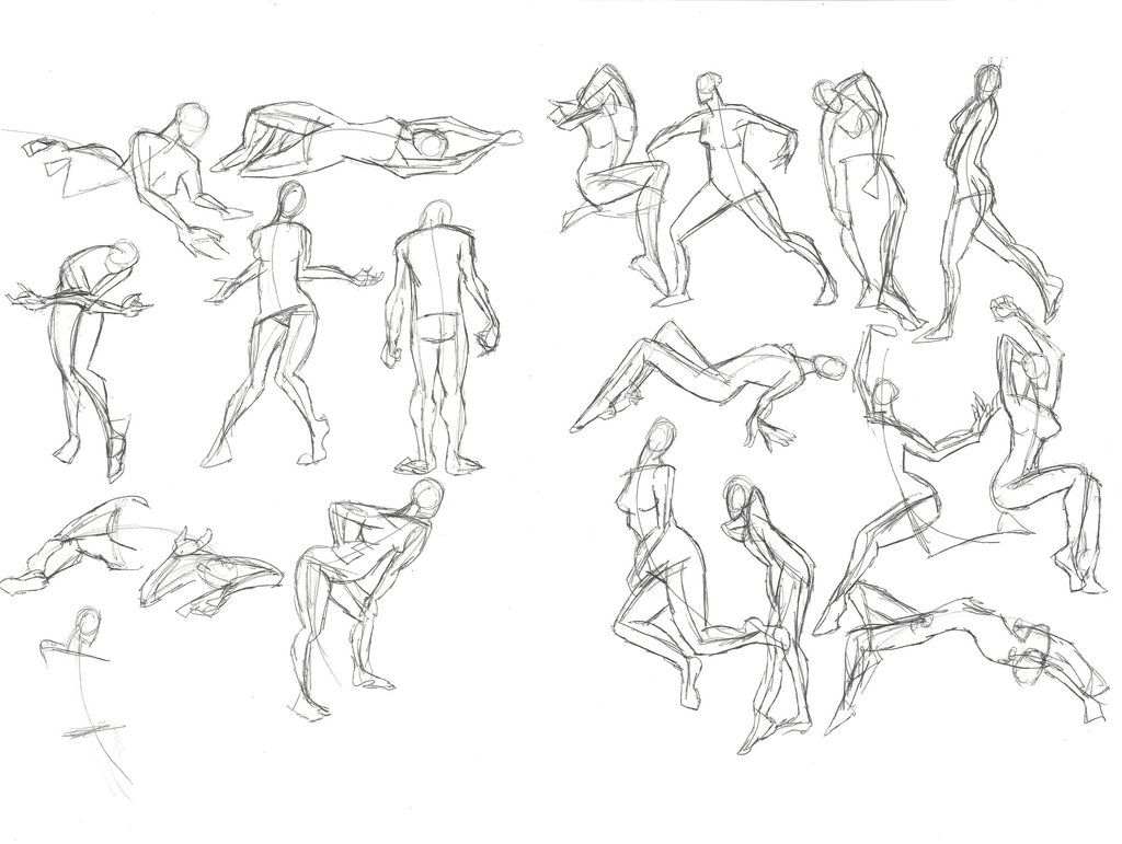 1024x771 A Year Of Gesture Drawing 019 20365 By Tommyoliverdraws