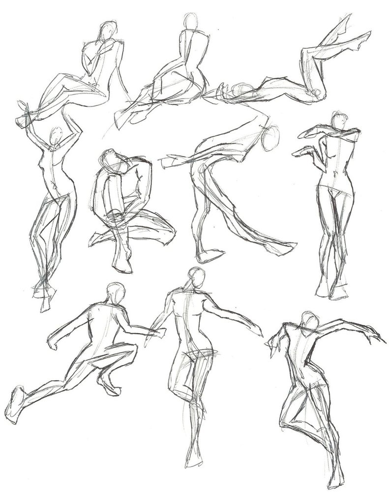 791x1010 A Year Of Gesture Drawing 033365 By Tommyoliverdraws