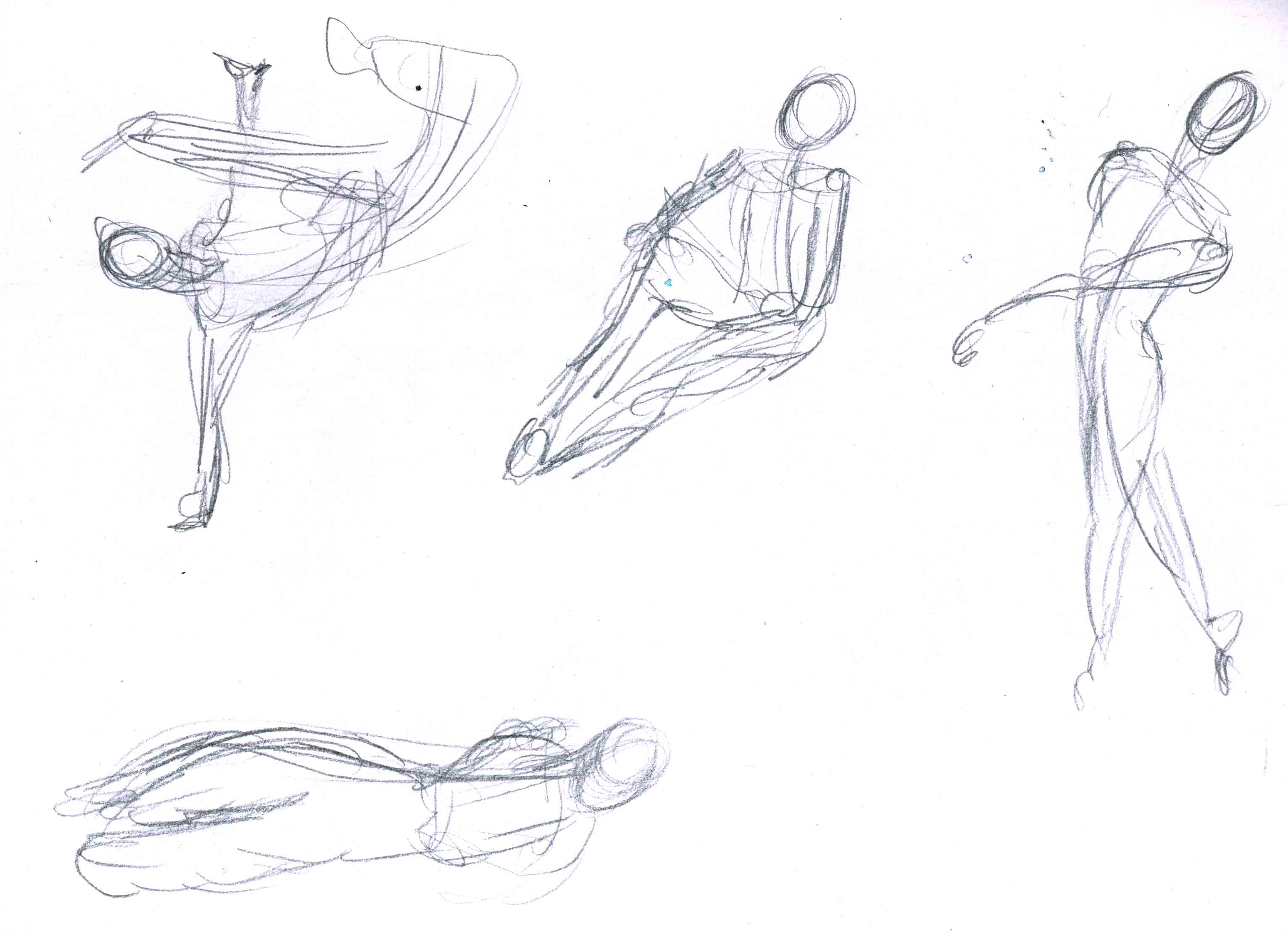 3064x2226 60 Second Gestures Dream Of The Scribble Fiend