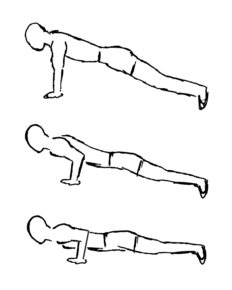 800x1000 Increase Difficulty Level Of Push Up By Varying Your Grip Width