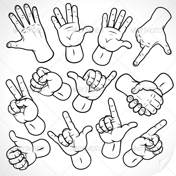 590x590 Sketching Hands Palm Hand, Symbols And Sketches