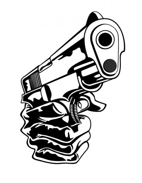 488x626 Hand Gun Vectors, Photos And Psd Files Free Download