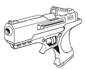 287x237 Hawk Eagle Auto Pistol