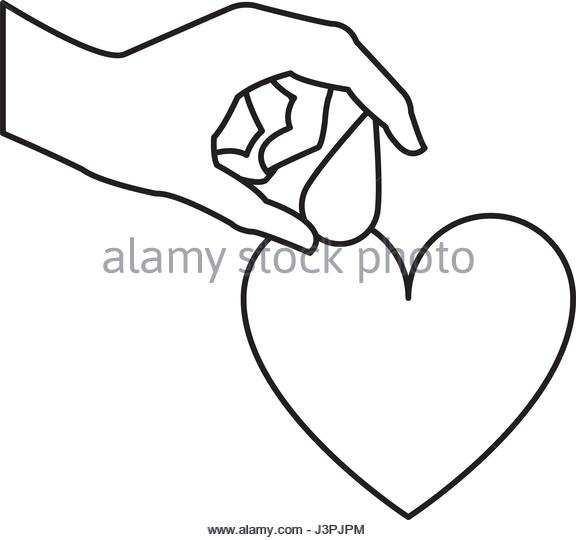576x540 Hand Holding Blood Drop Vector Stock Photos Amp Hand Holding Blood