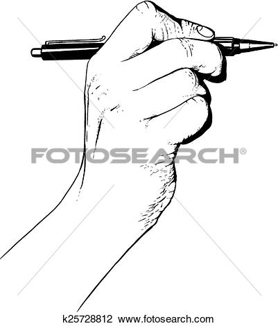 401x470 Pen Clipart Hand Holding