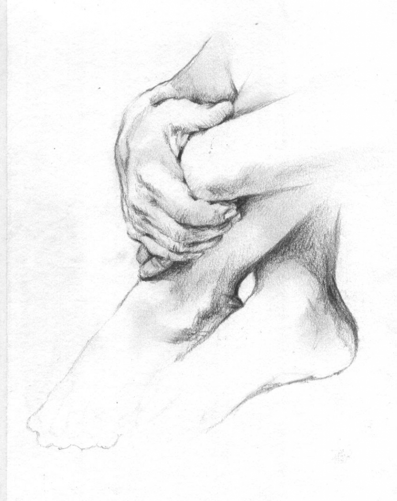 810x1024 Pencil Sketches Of Hands Holding Elderly Hand