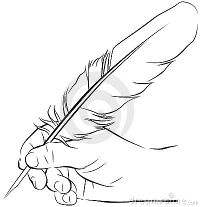 400x414 Writing Pen With Hand Clipart