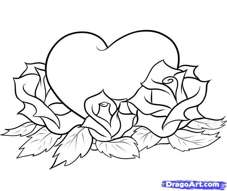 736x620 Drawn Hearts Easy