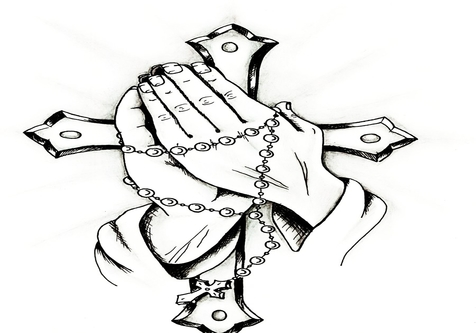 476x333 Hand Holding Flower Coloring Page Image Clipart Images