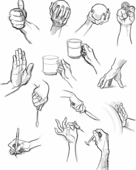 540x675 Human Anatomy Fundamentals How To Draw Hands