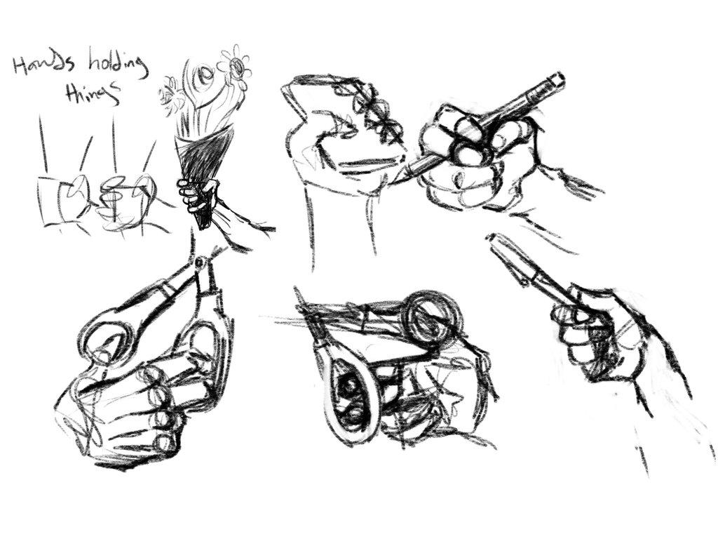 1024x768 Hand Studies