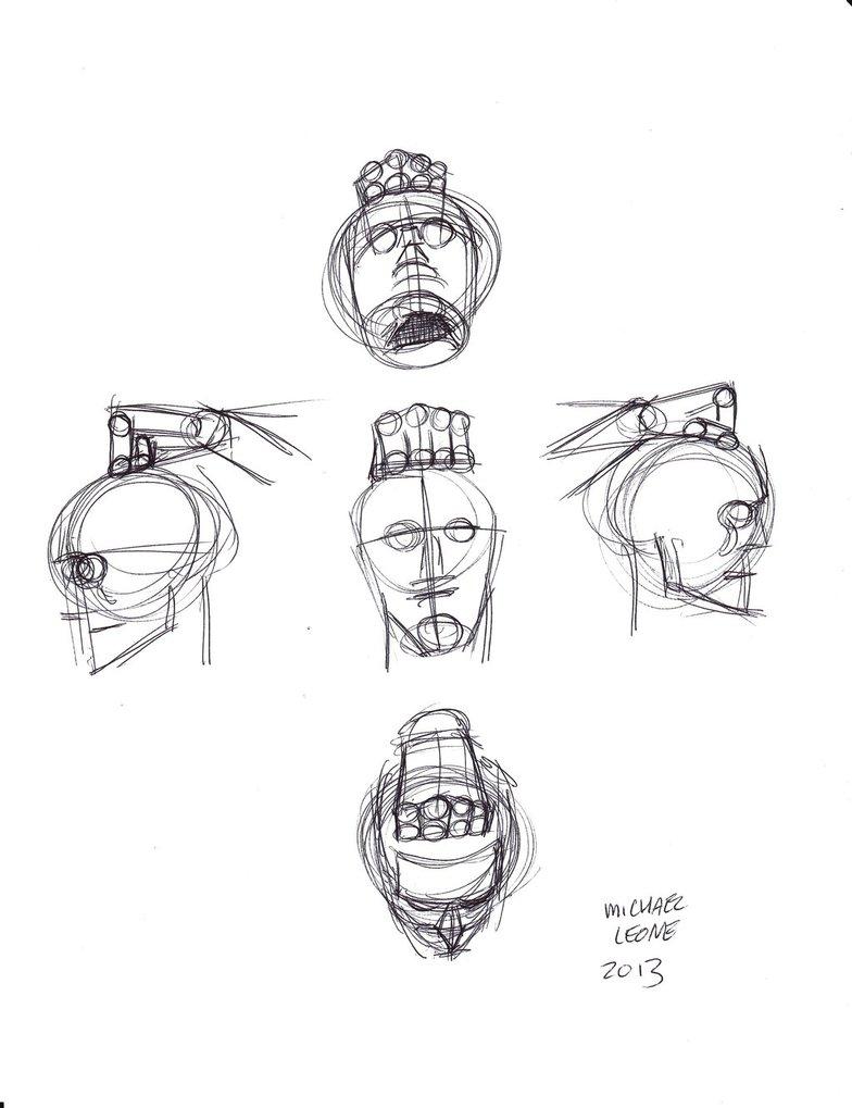 784x1019 Hand Holding Head 1 By Myconius