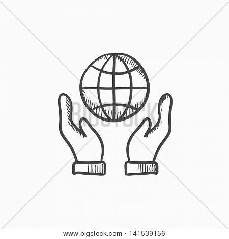450x470 Two Hands Holding Globe Vector Vector Amp Photo Bigstock