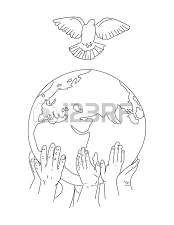348x450 Earth Day Concept. Human Hands Holding Globe. Save Our Planet