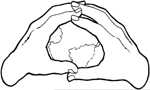 600x360 Earth In The Hands Coloring Pages Best Place To Color