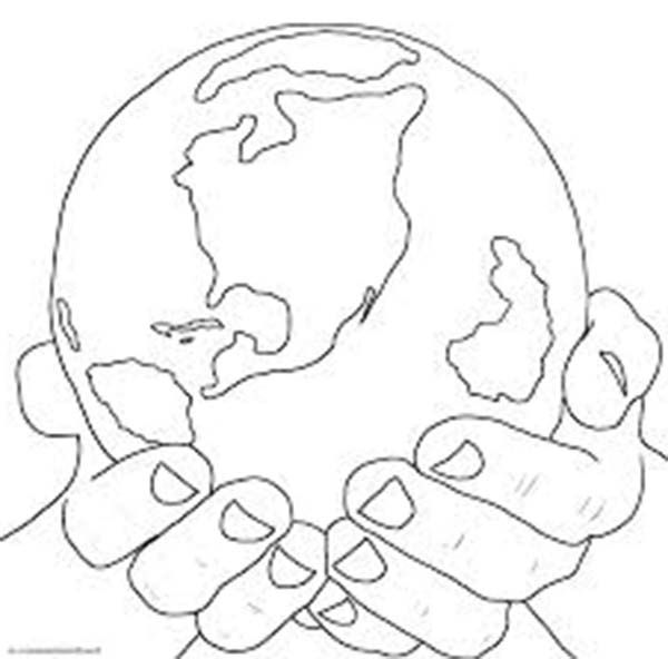 God Created The World Coloring Pages