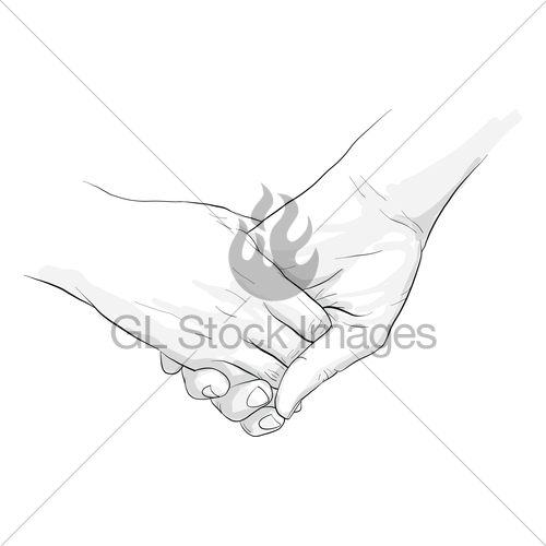 500x500 Hand Holding Hand Together Gl Stock Images