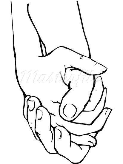 412x550 Hands Holding Clipart