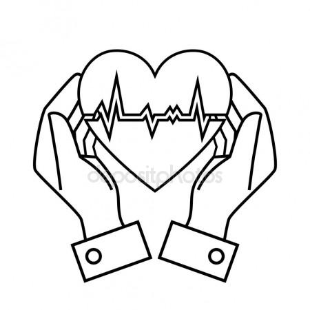 450x450 Drawings Of Hands Holding A Heart