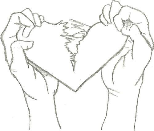 500x425 Drawn Broken Heart