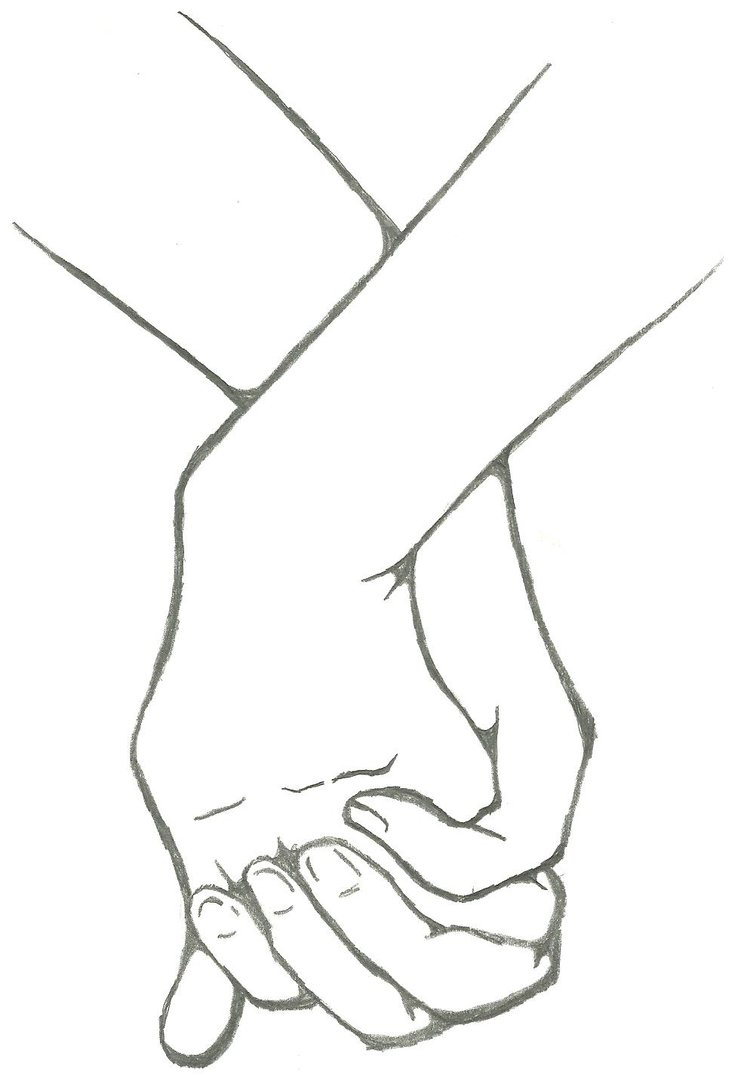 741x1078 Holding Hands By Raverect