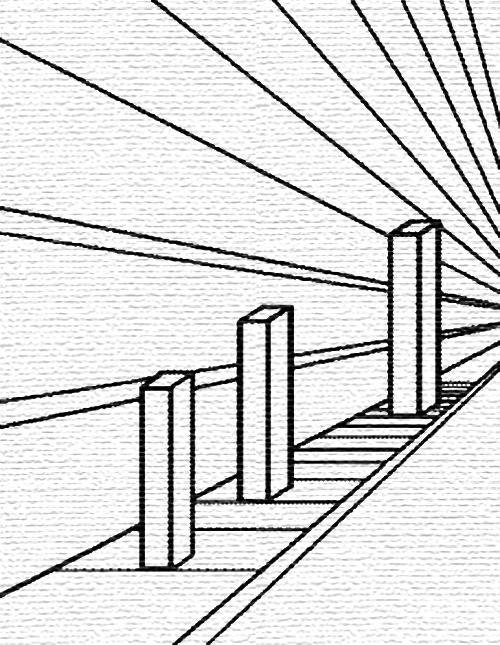 500x645 Ponzo Illusion Collection