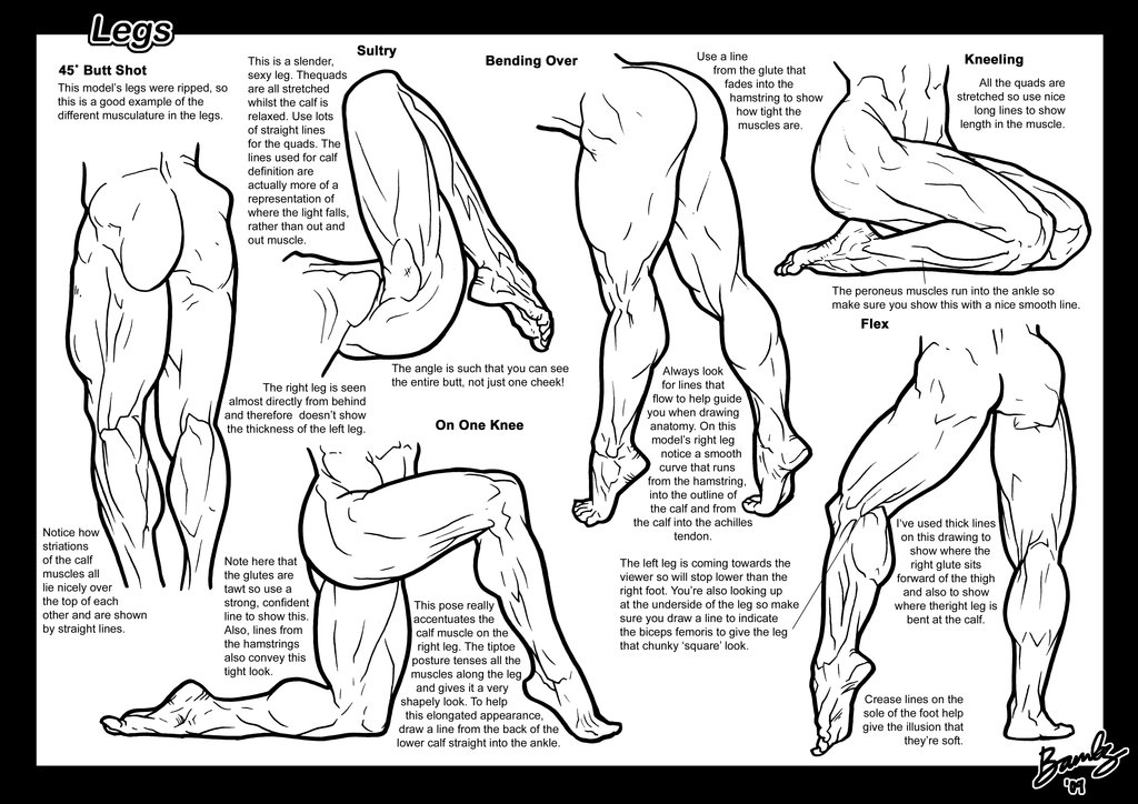 1024x724 Tutorial Legs 1 By Bambs79