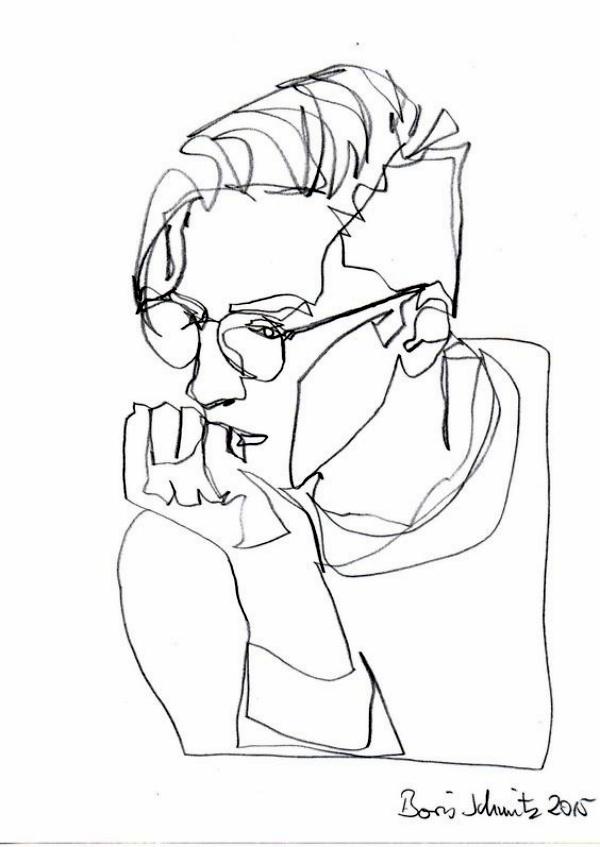 Hand Line Drawing