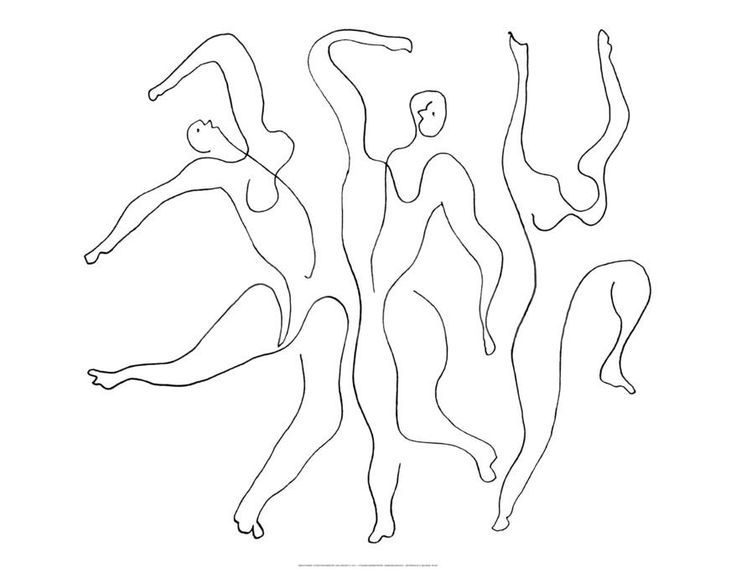 736x572 The Best Continuous Line Drawing Ideas