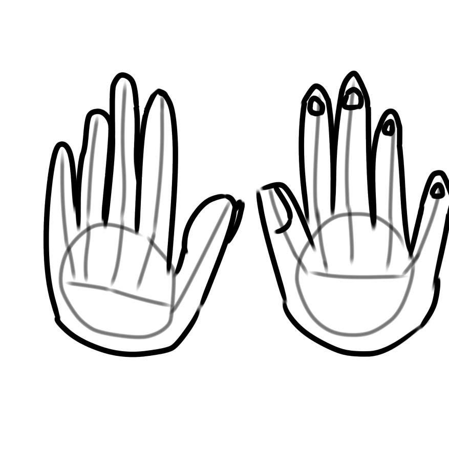 877x877 How I Draw Hands Glitchtale Amino