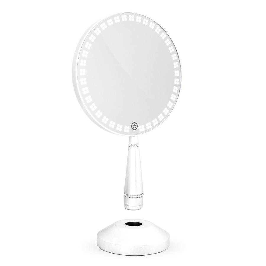 900x900 Impressions Vanity Co. Bijou Led Hand Mirror With Charging Stand