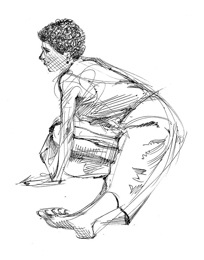 704x900 Sketchbook Drawings