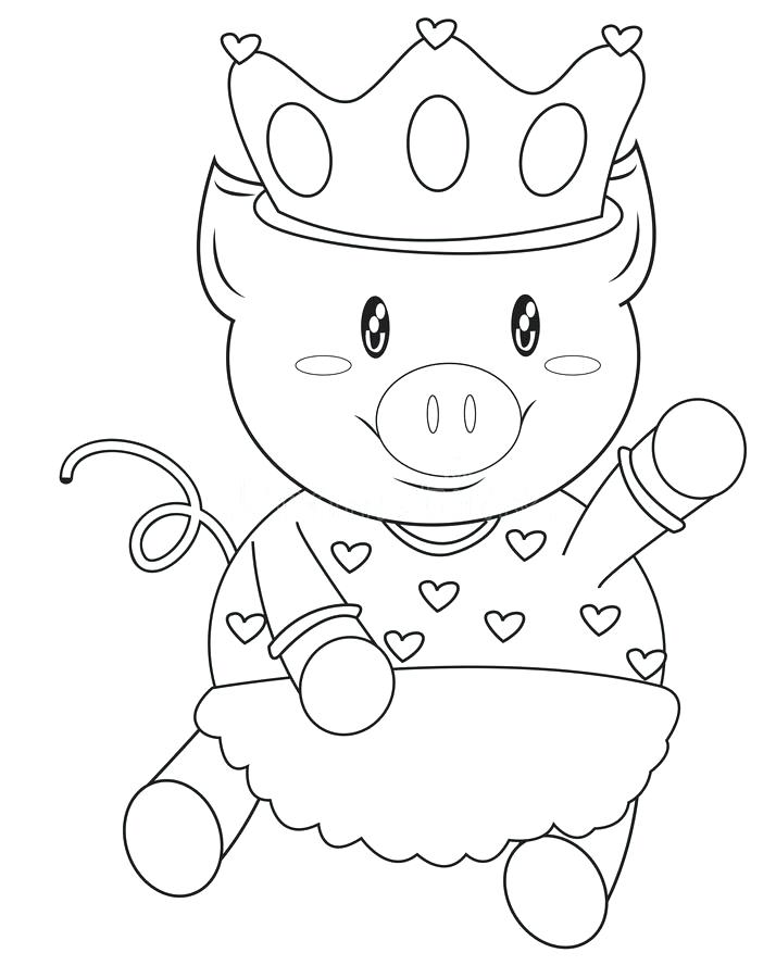 714x900 Entertaining Crown Coloring Page Image Vector Illustration Outline