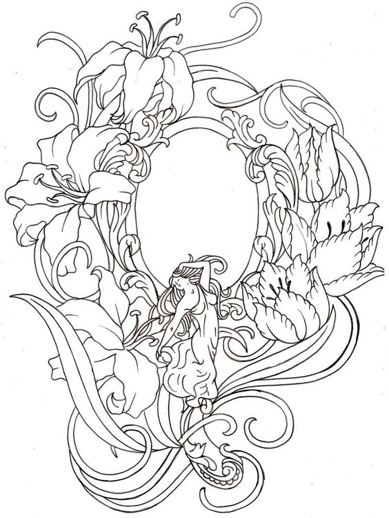 564x751 Mirror Drawings
