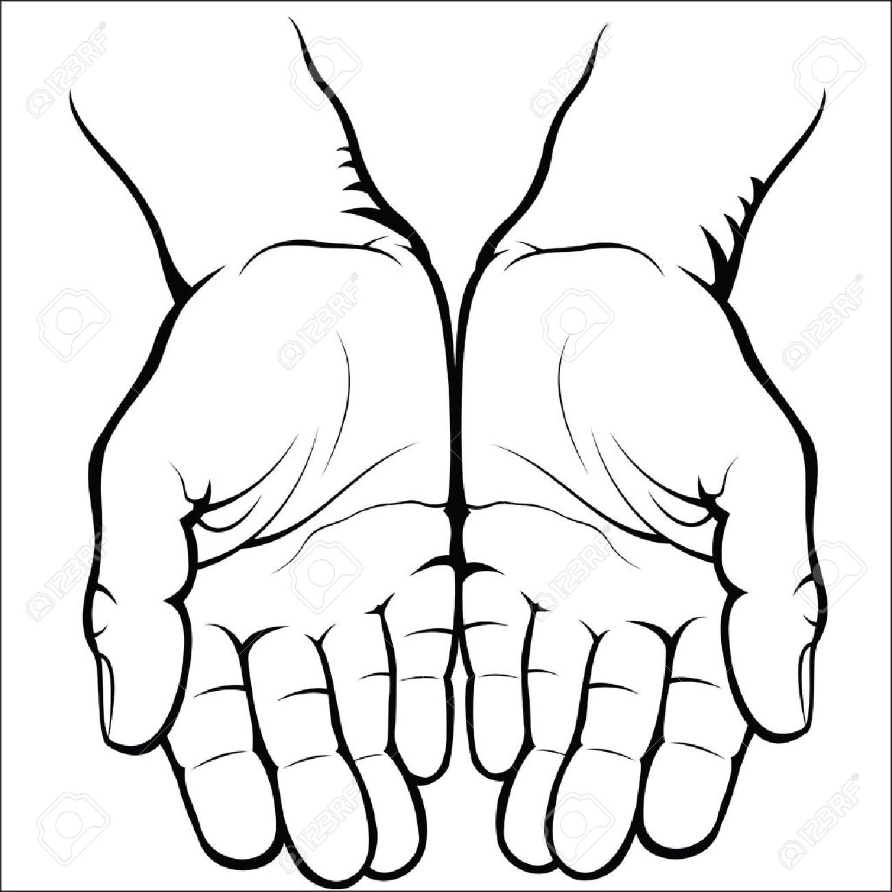 1300x1300 Open Hands Stock Photos. Royalty Free Business Images