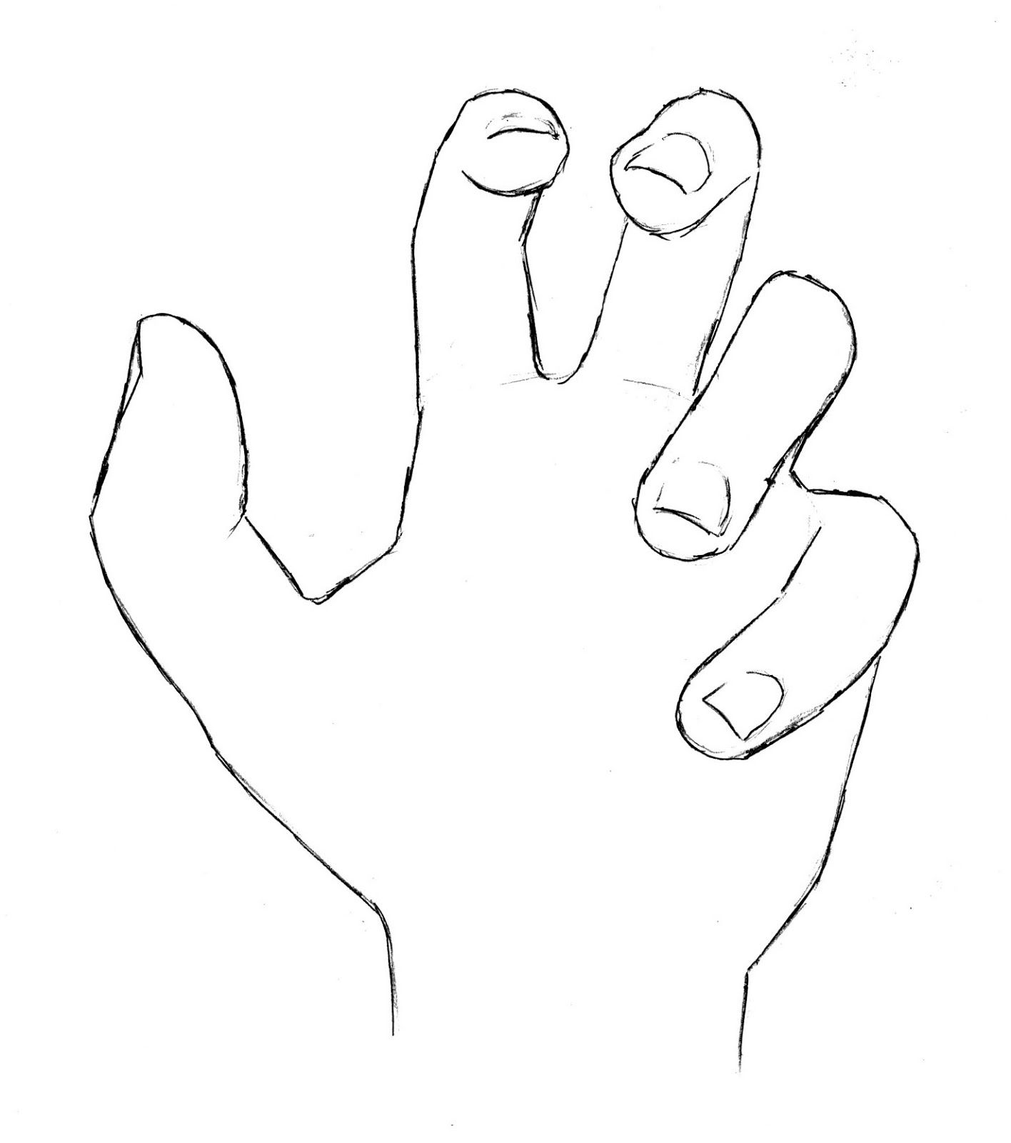 1416x1600 Draw Hand Open Palm Refined Art Drawing Lessons