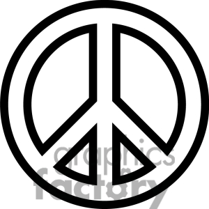 300x300 Peace Sign Clipart Peace And Love