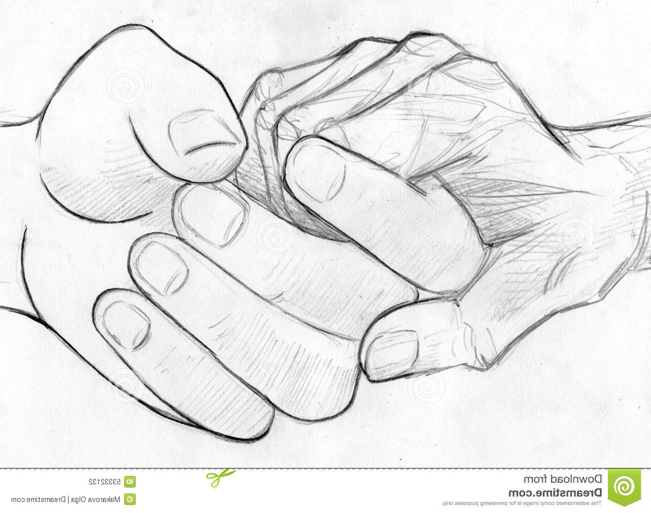 1300x1025 Pencil Drawings Of People Holding Hands Holding Elderly Hand