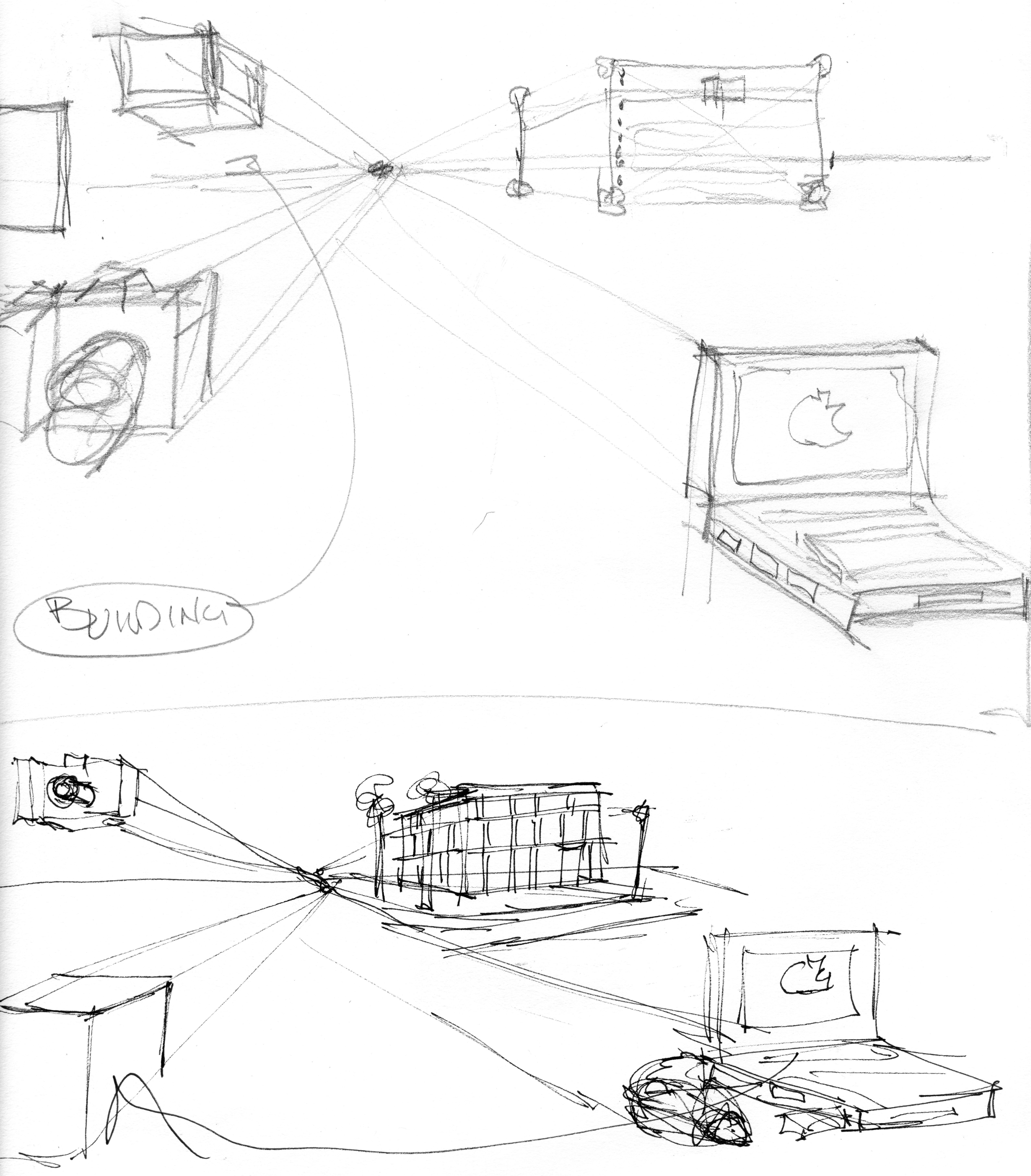 5069x5783 Drawing Objects In Perspective Line Drawing Demonstrations