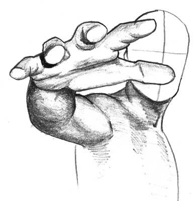 390x400 Foreshortening I Have The Worst Time Doing This, Fingers Look