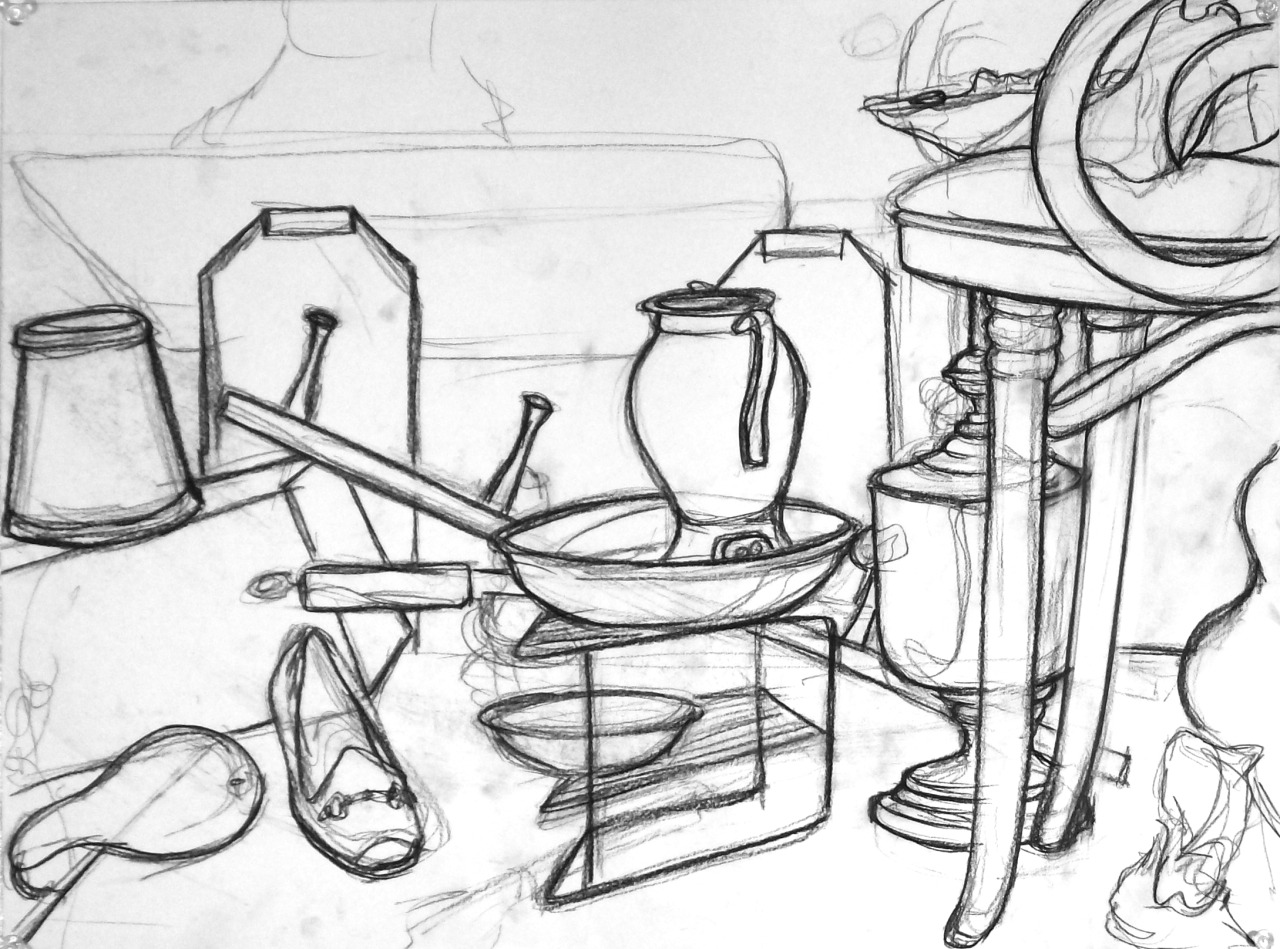 1280x949 Basic Drawing 1 Free Hand Perspective