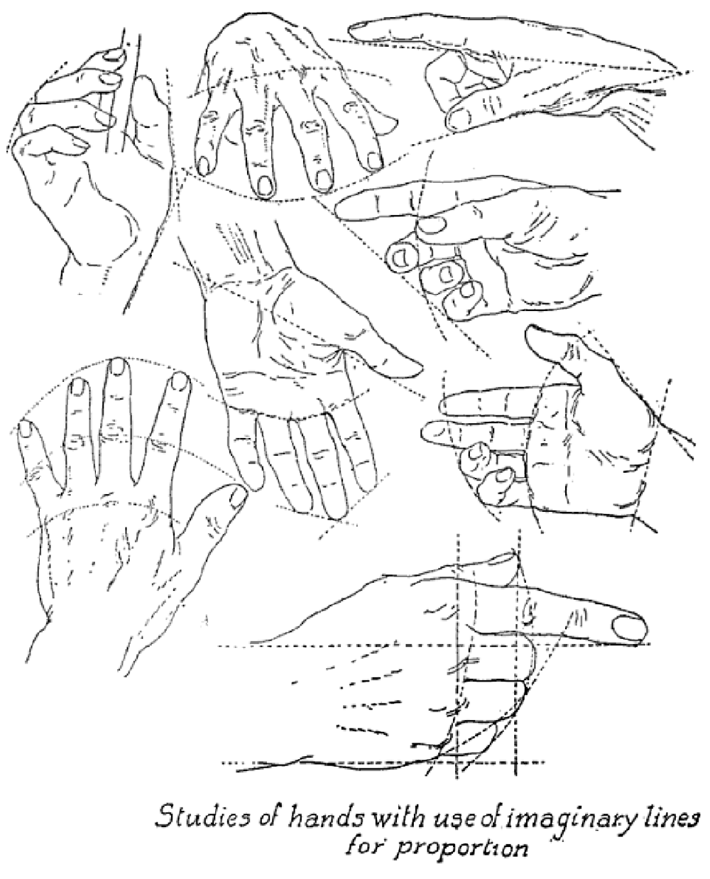 1000x1238 Drawing Hands Techniques For How To Draw Hands With References